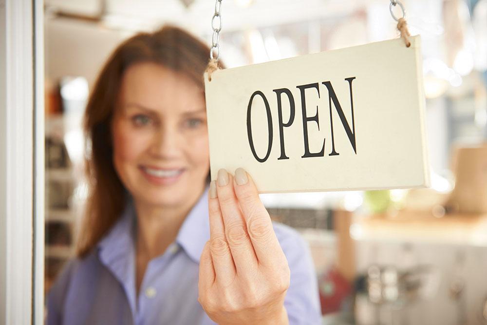 Empréstimo financeiro para abrir o próprio negócio